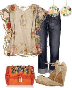 Outfits de Moda ...Me Tomo Cinco Minutos: Hippie Chic