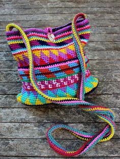 Ravelry: Maya Purse pattern by Fabienne Chabrolin