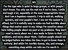 """Joni Byars on Twitter: """"#INFJ Confession: """"I'm worth it."""" #INFJpersonality…  this is so perfectly worded"""