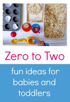 Zero to two: the book of play is packed full of fun activities for babies and toddlers. Toddler Play, Toddler Learning, Baby Play, Toddler Crafts, Baby Toys, Toddler Teacher, Toddler Stuff, Fun Baby, Infant Toddler