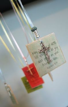 Beautiful scripture bookmarks to make for under $2.00 Personalize them for a special gift