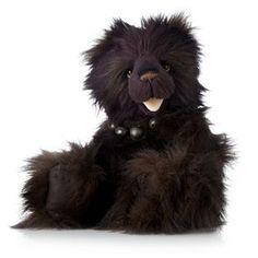 """Charlie Bears Collectable Chuckles 21"""" Plush Bear"""
