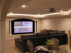 decorating your basement media room needs some planning to create rh pinterest com Basement Electrical Wiring Residential Electrical Wire Running Boards On Basement