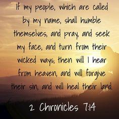 2 Chronicles 7:14