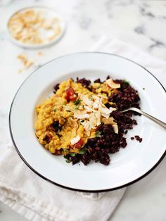 Coconut Curried Lentils - Foodess
