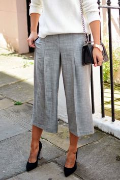 Chic & Trendy Culottes for this fall : MartaBarcelonaStyle's Blog