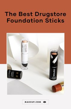 We rounded up the best drugstore foundation sticks to try in 2019 including options from Maybelline L'Oreal Paris Milani Iman and more. necklace necklace with name necklaces for girlfrien Makeup Geek, Makeup Tips, Makeup Products, Full Coverage Drugstore Foundation, Foundation Tips, Best Foundation For Summer, Drugstore Makeup Dupes, Beauty Dupes, Iman Cosmetics