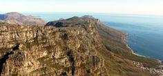 Table Mountain na Cidade do Cabo - paisagem 2
