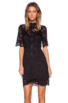 ELLIATT Range Lace Dress in Black   REVOLVE