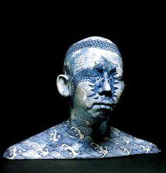 """Ah Xian, """"China China, Bust #10,"""" 1998"""