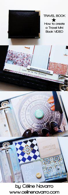 In a Creative Bubble Taiwan Travel Mini   Part II Mini Scrapbook