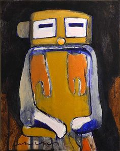 Kachina Doll #10 by Fritz Scholder (Luiseno)