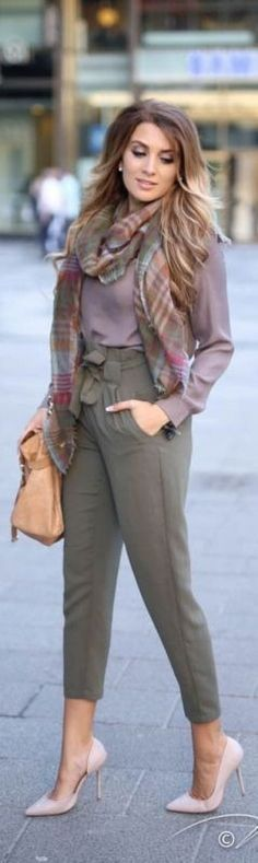fall-and-winter-office-outfits-1-2 83+ Fall & Winter Office Outfit Ideas for Business Ladies 2018