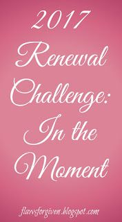 2017 Renewal Challenge: In the Moment
