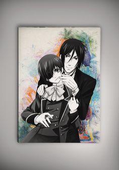 Black Butler Poster Anime Otaku Manga Print Fan Art n20