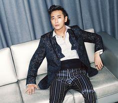 Joo Ji Hoon From The December 2013 Issue Of L'Officiel Hommes Korea