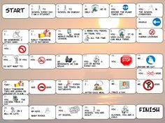 Speaking Activities to Practise MUST and Past Continuous - Modal Verbs board game
