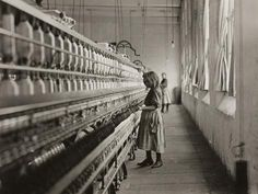 """""""Child in Carolina Cotton Mill."""" 1908 American photographer & sociologist, Lewis Hine, recorded children's working lives on behalf of the National Child Labor Committee. ~ A Design History of Childhood Wisconsin, Edward Weston, Ellen Von Unwerth, Richard Avedon, Ansel Adams, Lewis Wickes Hine, Labor Day History, Family History, Lancaster"""