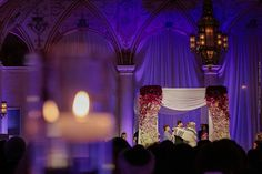 The Tallit moment / Wedding of Morgan Pressel and Andrew at The Breakers in Palm Beach, FL / Photo by Maloman Studios
