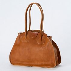 Oak Leather Carryall