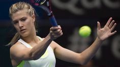 Eugenie Bouchard is working with Jimmy Connors ahead of the U.S. Open in New York, but has no long-term plans to retain him as her coach.