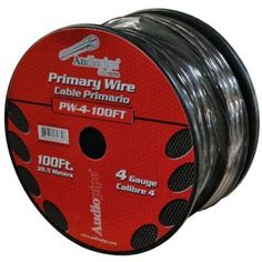 Audiopipe Pw4100bk Oxygen Free Ground Cable Black 4 Ga 100 Spool 4 Gauge by audiop. $56.45. Description:PW4100BK:AUDIOPIPE    BLACK GROUND WIREOXYGEN FREE COPPER^ GAUGE x 100' SPOOL