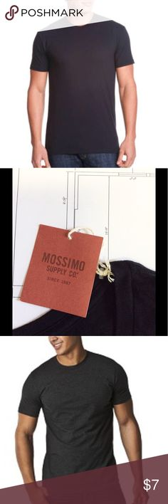 🌷🌷MOSSIMO men black shirt🌷🌷 NEW classic black shirt.  Never out of style! Mossimo Supply Co. Shirts