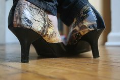 Luka Riot: Comic Shoes