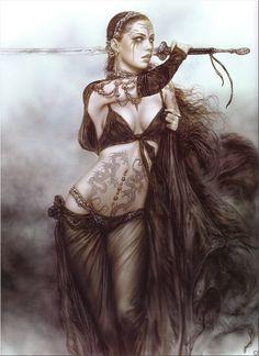 luis royo artist 15 Dead sexy fantasy drawings from the imagination of Luis Royo photos) Fantasy Artwork, Gothic Fantasy Art, Fantasy Drawings, Fantasy Warrior, Dark Fantasy Art, Fantasy Women, Fantasy Girl, Dark Warrior, Fantasy Sword