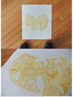 Wutang Print by Joanna Suhayda