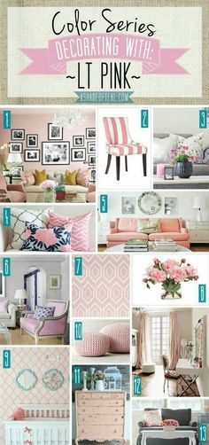 LT Pink Home Decor