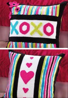 OXOXOX Crochet Pillows