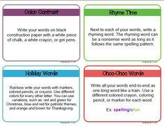 Teaching with TLC: 101 Ways to Make Spelling FUN!