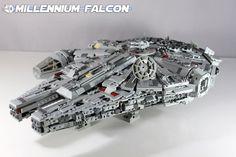 Custom LEGO Star Wars: Millennium Falcon