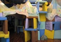 Cort Ruddy questions why constructing forts has endured as such a universal rite of childhood