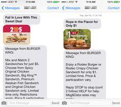Worst Practice: Wie Burger King Geld mit schlechtem Mobile Marketing verbrennt - Mehr Infos zum Thema auch unter http://vslink.de/internetmarketing