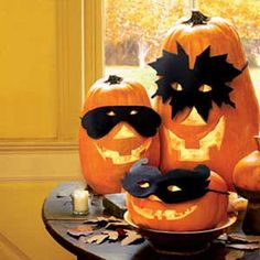 Make Your Favorite Pumpkin Mask