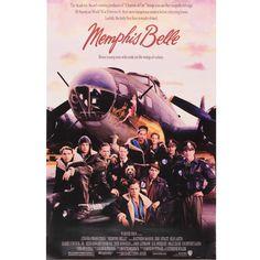 Reproduction Memphis Belle film poster Film Poster, Movie Posters, Memphis Belle, Warfare, Brave, Art, Art Background, Kunst, Performing Arts