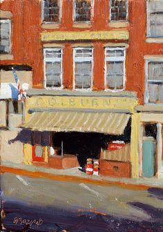 DAN GRAZIANO Early Morning Storefront