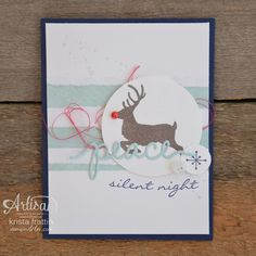Stampin' Dolce: Stepped up Christmas card using Stampin' Up! Fall Cards, Winter Cards, Holiday Cards, Christmas Cards, Christmas Paper Crafts, Stampin Up Christmas, Christmas Holidays, Jingle All The Way, Card Maker
