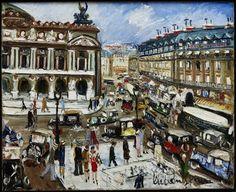Lucien Genin (1894-1958) Paris, place de l'Opéra