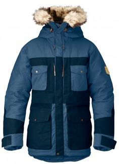 feaaaa2853e Arktis Parka by Fjällräven. Durable and reinforced with fabric for extra  tear resistance. Grey ParkaMens ...