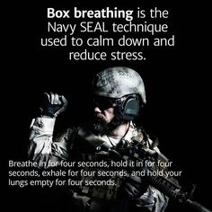 Box Breathing Is the Navy SEAL Technique for Reducing Stress and Staying Calm