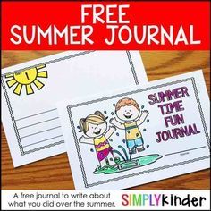 Summer Writing Journal (FREE)