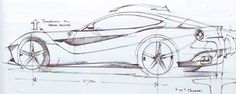 referring back to my previous post, the most esteemed Ferrari GTO, the 250 GTO, had a similar motif in the rear[attach] Ferrari, Supercars, Sketching Techniques, F12 Berlinetta, Sketches Tutorial, Car Design Sketch, City Car, Hand Sketch, Car Drawings