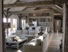 Beautiful barn remodel