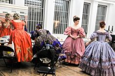 See Laura Osnes Transform Into Cinderella as The Broadway Cast Preps for the Thanksgiving Day Parade Rodgers And Hammerstein's Cinderella, Cinderella Broadway, Victoria Reign, Queen Victoria, Laura Osnes, Thanksgiving Day Parade, Hoop Skirt, Musical Theatre, Victorian Fashion