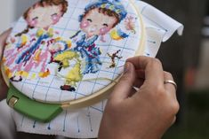 Using waste canvas for your next cross stitch project
