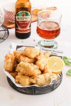Cómo hacer merluza con tempura de cerveza