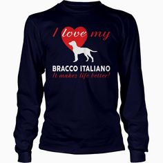I love my #Bracco #Italiano , Order HERE ==> https://www.sunfrogshirts.com/Pets/109235036-283109366.html?51147, Please tag & share with your friends who would love it, #xmasgifts #birthdaygifts #christmasgifts